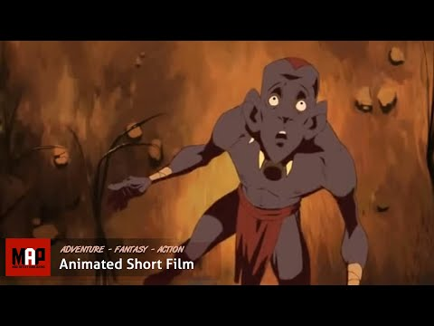 """2D Animated Short Film """"GHURABAA"""" Thrilling Animation by Sheridan College"""