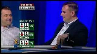 Completely Mental Hand From The Partypoker Open.