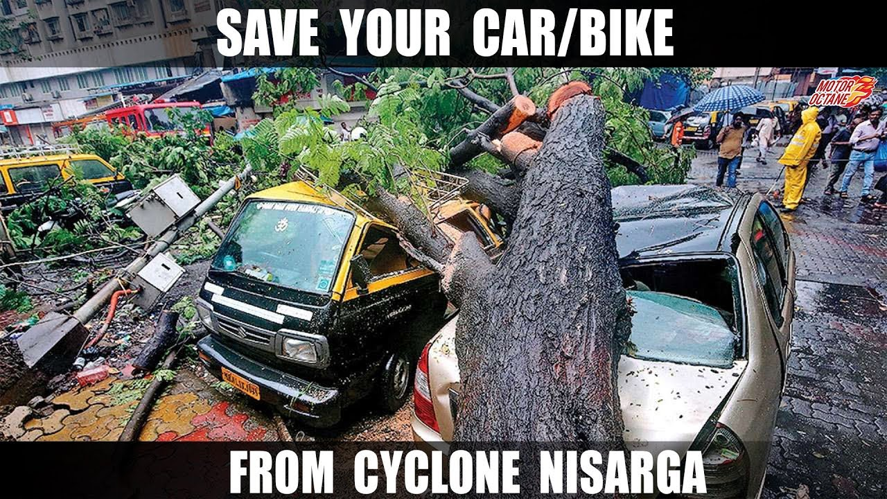 Motoroctane Youtube Video - Save your CAR/Bike From Cyclone NISARGA