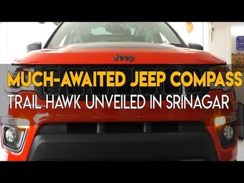 Much-awaited Jeep Compass Trail Hawk unveiled in Srinagar