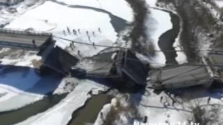 В Приморье водитель грузовика, разрушавшего мост, заявил о своей невиновности