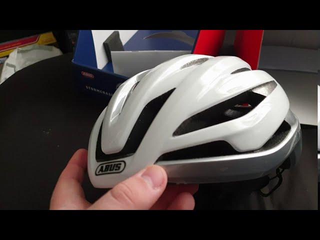Видео Шлем велосипедный Abus StormChaser Blaze Red
