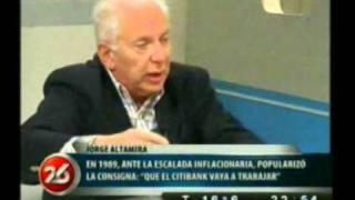 25 Octubre 2010  Jorge Altamira Con Roberto García En Canal 26  Segunda Parte