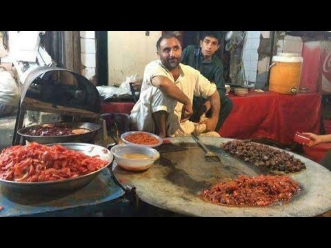 Fuwara Chowk Food Street, Saddar Cantt Peshawar   Pakistani Street Food Peshawar