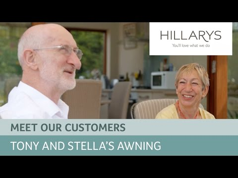 Choosing a Garden Awning: Meet Tony and Stella YouTube video thumbnail