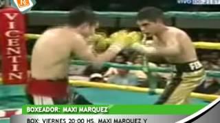 0556 EL SALVAJE PEREYRA Y MAXI MARQUEZ   Box viernes 20 hs Maxi Marquez y El Salvaje Pereyra en el C
