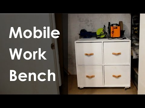 Build A Mobile Workbench On The Cheap With Plywood