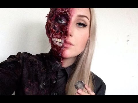 Harvey Dent | Two Face Special FX HALLOWEEN Makeup Tutorial