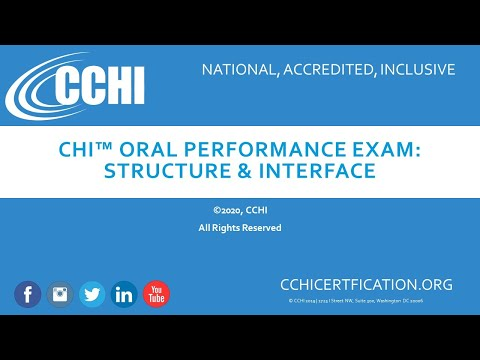 CHI Exam Structure and Interface - YouTube