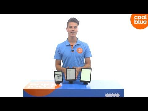 Kobo E-reader line up (Nederlands)