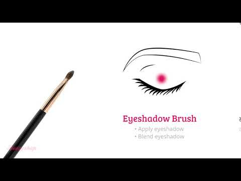 Boozyshop Boozyshop Ultimate Pro UP30 Eyeshadow Brush