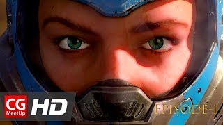 "CGI Animated Short Film: ""Farrah Rogue - Awakening"" - Ep1 by James Guard Studios 