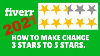How to change fiverr Negative feedback? Fiverr new video
