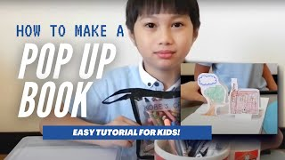 HOW TO MAKE: Pop Up Book For Kids (Easy!) | Kobe Of Just Kiddies