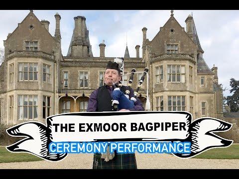 The Exmoor Bagpiper Video