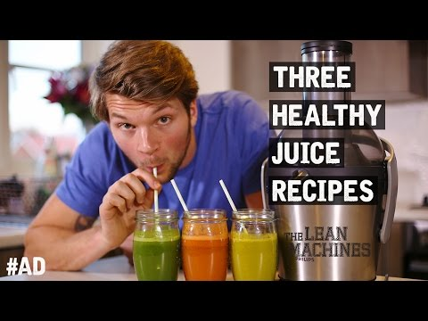 Video 3 Healthy Juice Recipes That Taste Great!