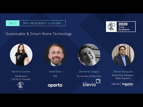 , title : 'Day 3: Sustainable & Smart Home Technology & Fireside Chat'
