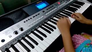 Kuhu Kuhu Bole Koyaliya Cover on Keyboard - Harshvi