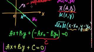 §8.1 Общее уравнение прямой на плоскости фото