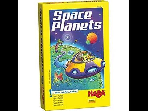 The Purge # 1262 Space Planets: Dice chucking planet and asteroid stealing tile game for kids