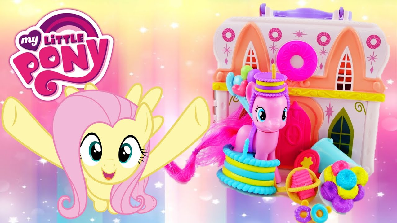 New 2016 My Little Pony Playset Pinkie Pie Donut Shop Explore Equestria