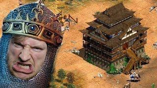 Maxim vs Hans - 1v1 - Offensive Burg MAIN!!! | Age of Empires 2 [#24]