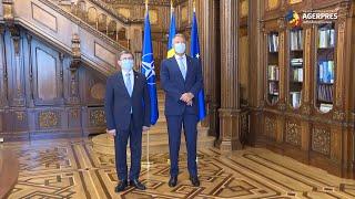 Parcursul european al Republicii Moldova, discutat de Klaus Iohannis cu Igor Grosu