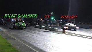 PRMETIME (WIZARD) vs JOLLYRANCHER (DA-GOON)  BADDEST GRUDGERACE EVER!!!!!