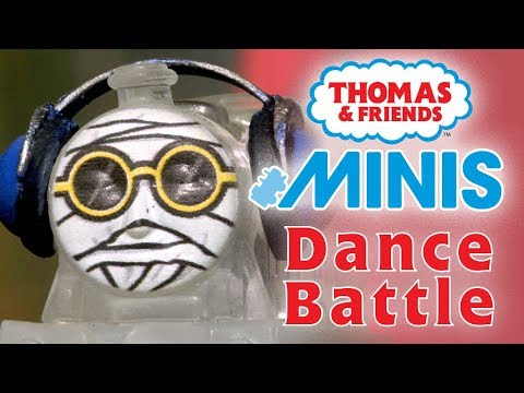 Dance Battle with MINIS   Playing around with Thomas & Friends   Thomas & Friends