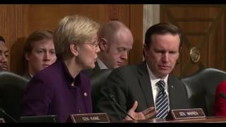 Elizabeth Warren RIPS Betsy Devos. I Will Vote Against.. 1/31/17