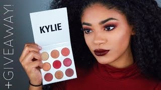 Kylie Jenner The Burgundy Palette +GIVEAWAY Closed  Jasmeannnn