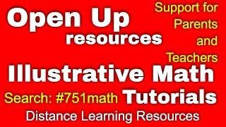 Illustrative Math (Open Up Resources And Illustrative Mathematics Tutorials)