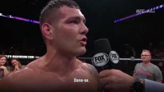 UFC Long Island: Entrevista no octógono com Chris Weidman