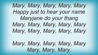Scarface - Mary Jane Lyrics