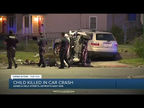 Child killed in hit and run on Detroit's east side