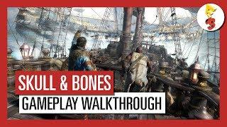 Skull & Bones: E3 2017 Mehrspieler-Gameplay-Walkthrough | Ubisoft [DE]