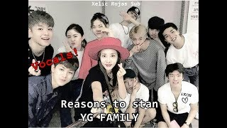 ♥ Reasons to stan YG FAMILY ♥ - Part1 [Vocals]