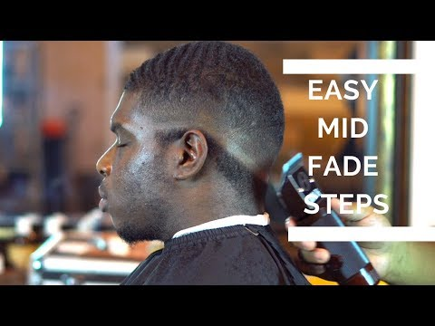 Mid Fade Haircut Tutorial | Drop Bold Fade With 360 Waves