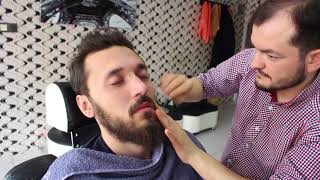 ASMR Turkish Barber Face Care And Body Massage 81