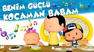 Pepee Çocuk Şarkıları - Benim Güçlü Kocaman Babam - Düşyeri