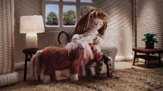 Amazon Prime Little Horse TV ad - The Knitted Version