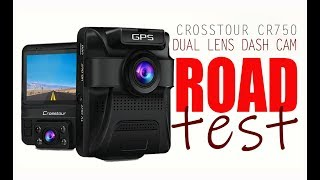 CR750 DUAL DASHCAM ROADTEST