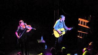 Jason Isbell covering Bob Dylan - The Man In Me (ft Amanda Shires) on Thekla, Bristol 18/11/13