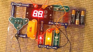Snap Circuits Arcade BUILD- Project 33: Memory Game (very easy)