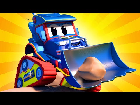 The Giant Robot Truck Carl The Super Truck Car City Cars And