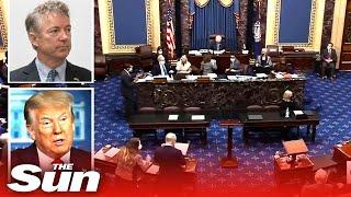 Trump impeachment trial 'dead on arrival' as GOP senators vote against hearing