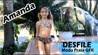 MISS AMANDA NATHANRY - Desfile Moda Praia GFK