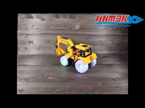 Трактор электр со свет/звук эфф. Арт.8863-11