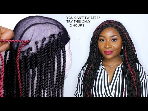 HOW TO DO CROCHET BRAID WIG WITH SENEGALESE TWIST   XTREND HAIR STORE