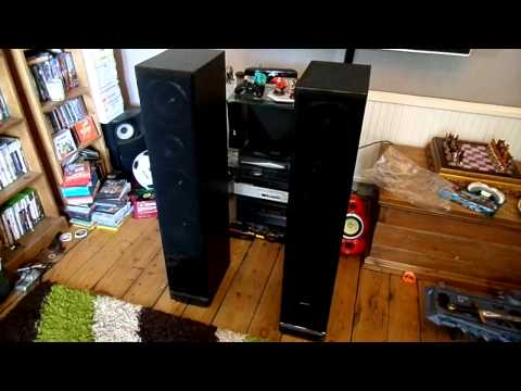 Scott SQX-900F Pure Acoustic Floor standing speakers Hi-Fi Separate Loudspeakers